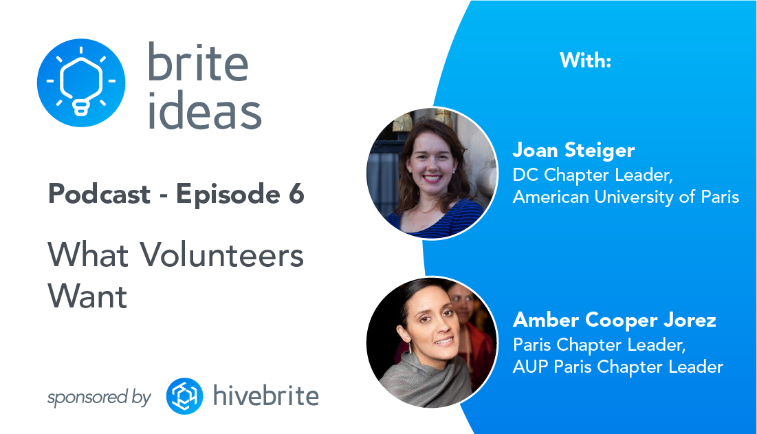 Brite Ideas Podcast: What Volunteers Want