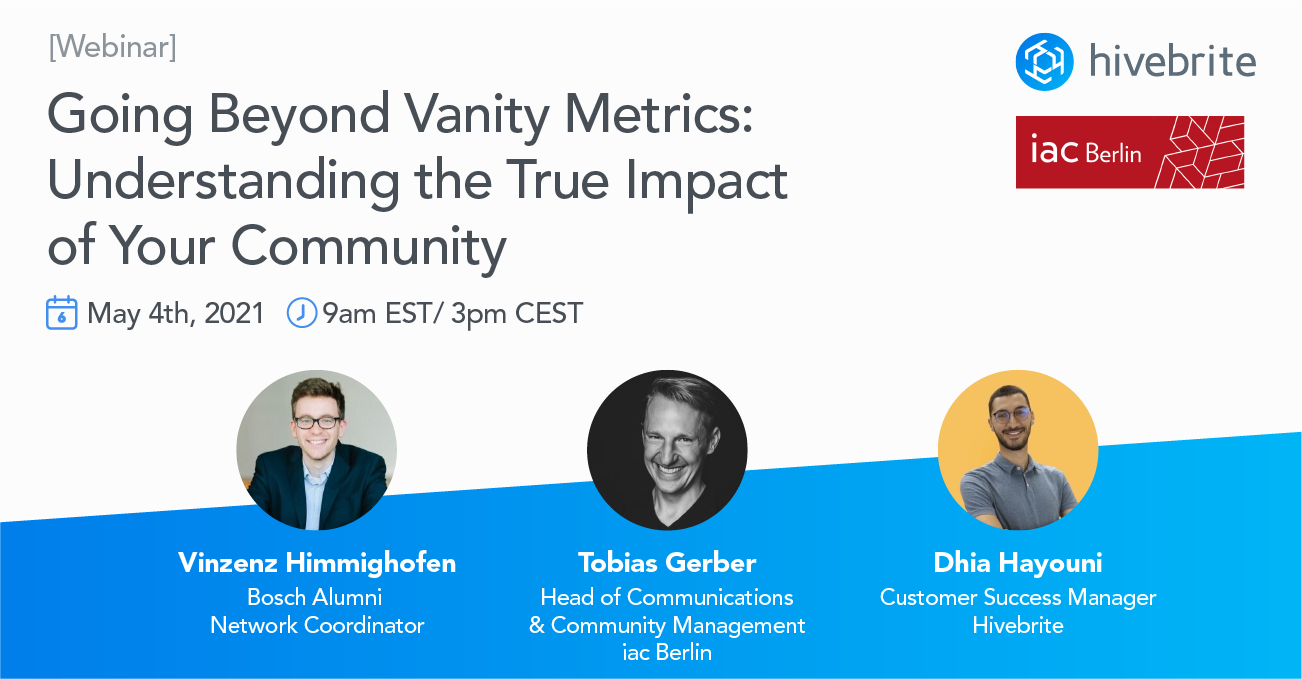 [Webinar Replay] Going Beyond Vanity Metrics: Understanding the True Impact of Your Community